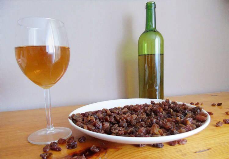 Вино из изюма: рецепты в домашних условиях, закваска для вина