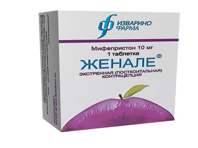 Контрацептив женале: инструкция по применению