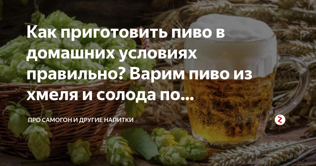 Рецепт приготовления самогона из пива в домашних условиях