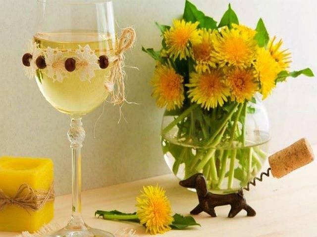 Традиционный рецепт приготовления вина из одуванчиков. польза одуванчикового вина.