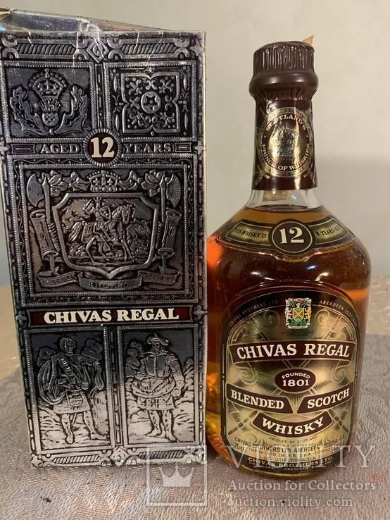 Чивас ригал 12 лет (chivas regal 12 years) — обзор и история появления напитка