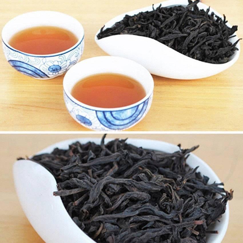 Да хун пао – чай большой красный халат, эффект да хун пао