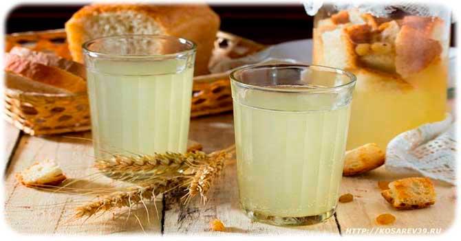 Квас. полезные свойства для организма, как употреблять свекольный, хлебный, овсяный, грушевый