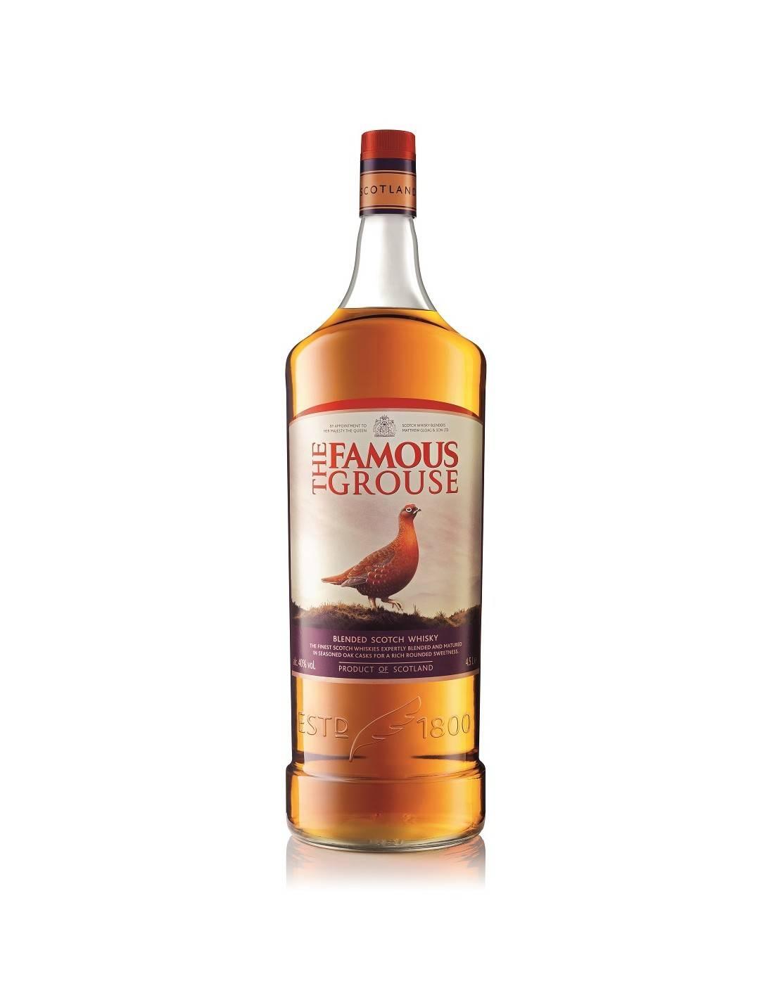 «фэймос граус» (famous grouse) — шотландский виски с птичкой на этикетке