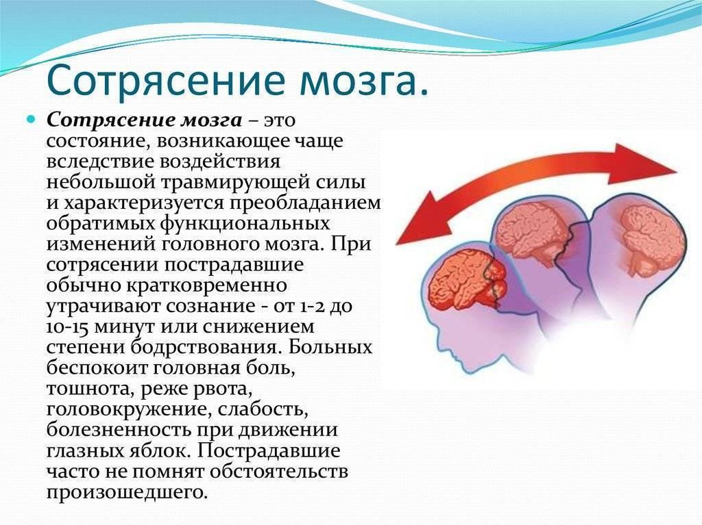 Правильное питание при сотрясении мозга. полезные и опасные продукты при сотрясении