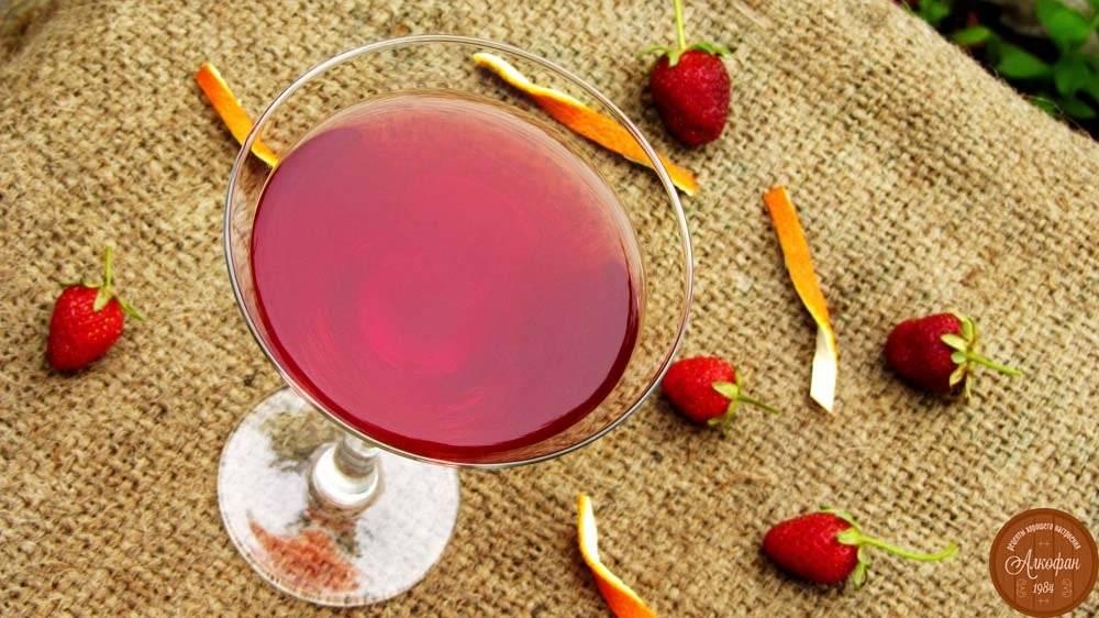 Клубничный ликер - рецепты в домашних условиях на водке, на спирту и самогоне