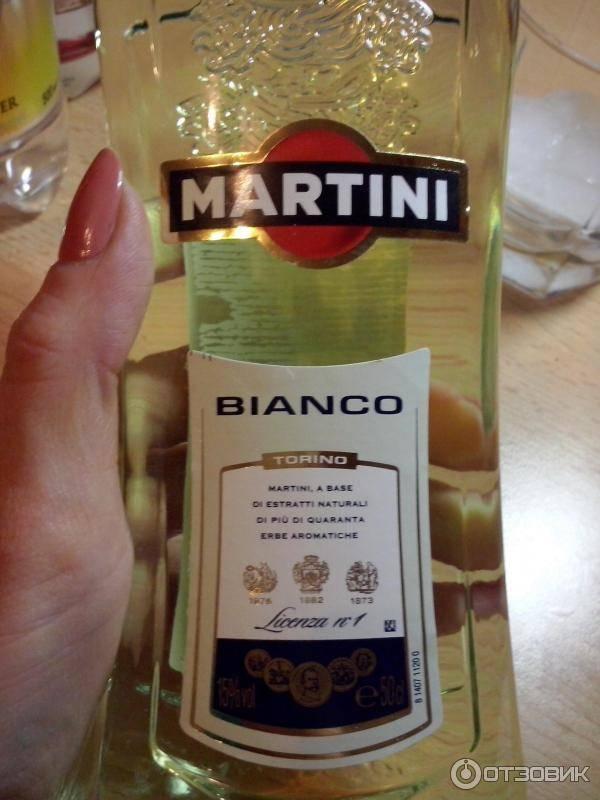 Как нужно пить мартини «бьянко» советы сомелье