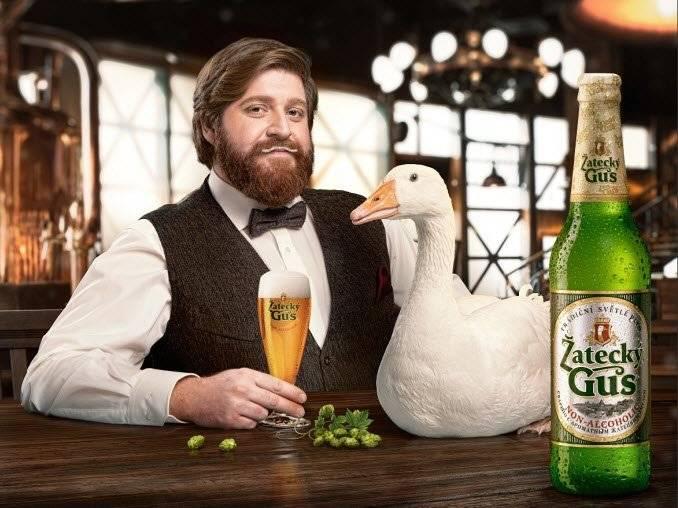Что собой представляет пиво «жатецкий гусь»?