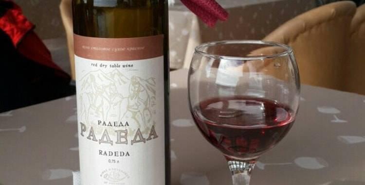 Обзор вина Радеда