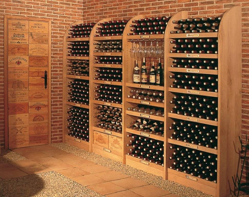 При какой температуре хранить вино в бутылках: дома, в погребе