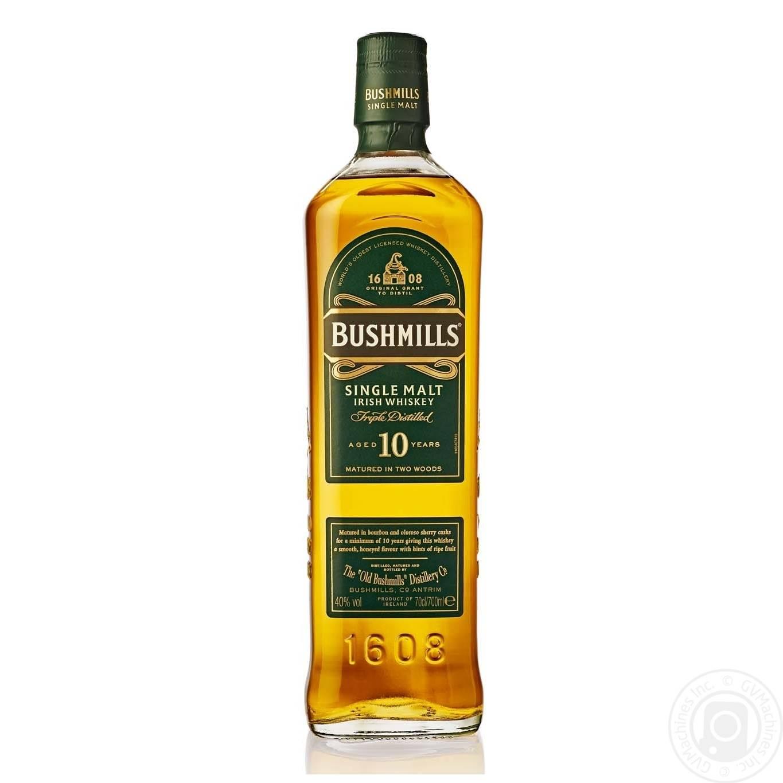 Ирландский виски бушмилс — история алкоголя