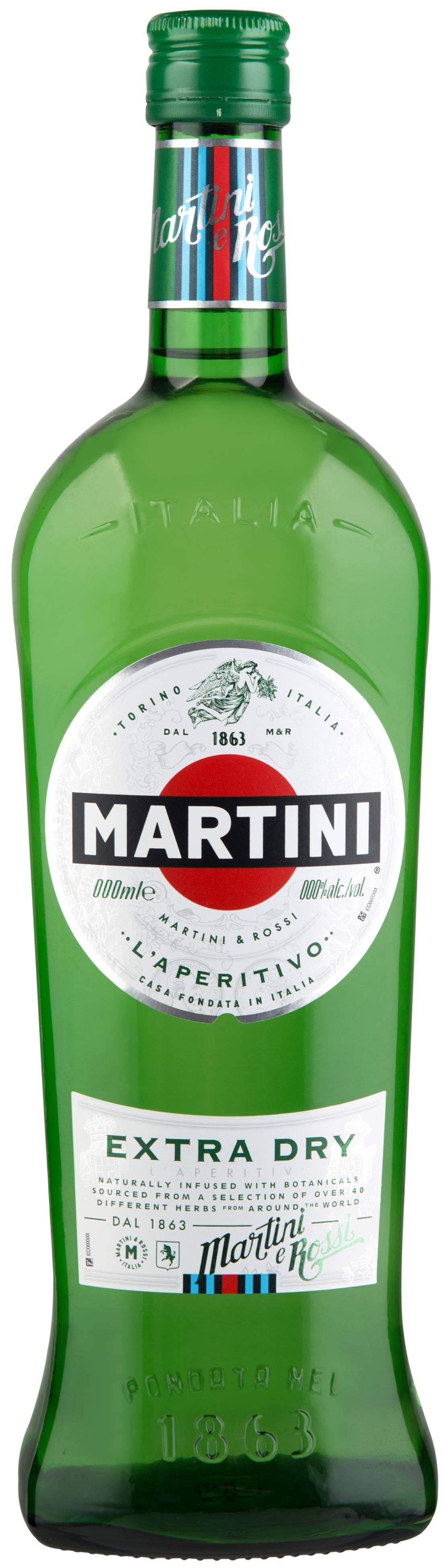 Обзор мартини экстра драй