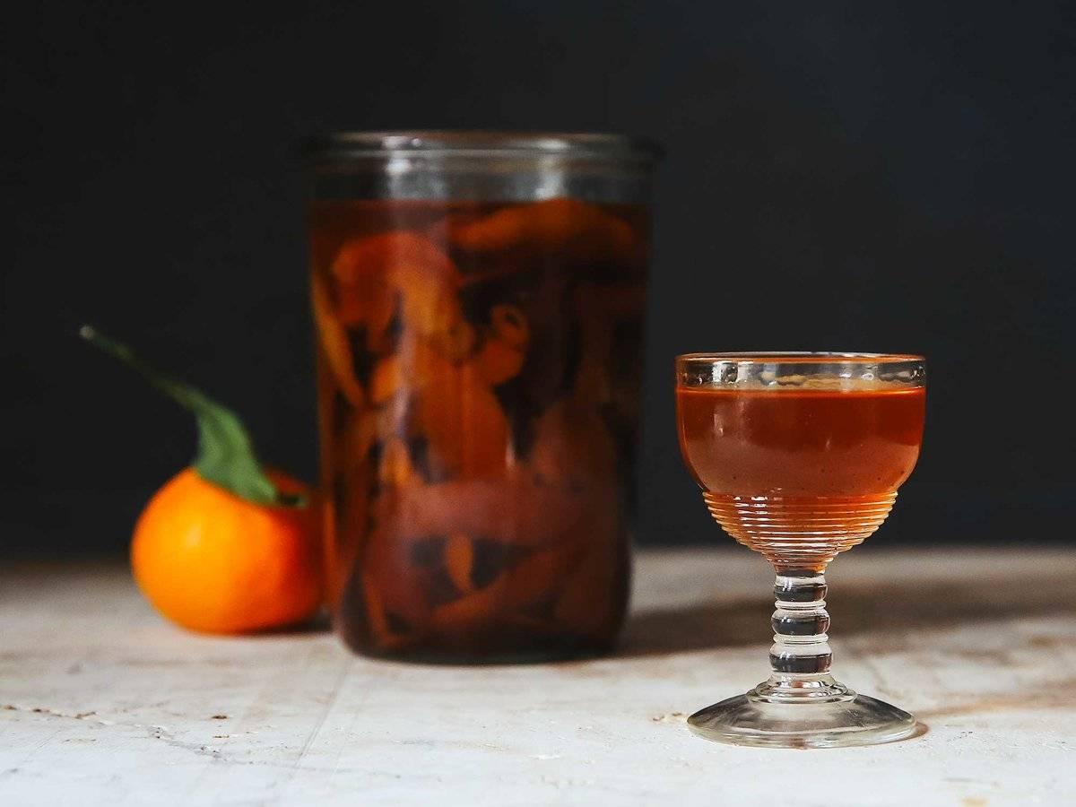 Как приготовить мандариновый ликер в домашних условиях