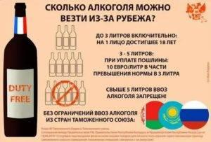 Провоз алкоголя в ручной клади и багаже самолета по россии и за границу