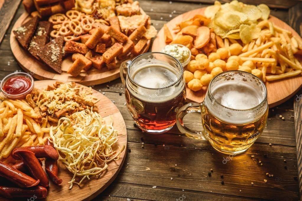 Закуски к пиву: простые и быстрые рецепты