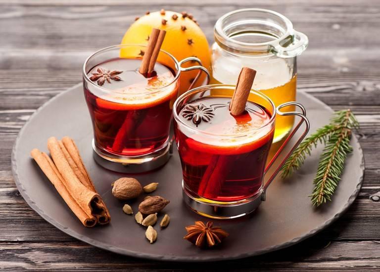 Согревающий напиток. c чем пьют глинтвейн