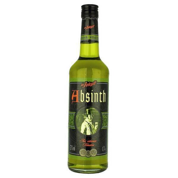 Абсент мистер джекил — история алкоголя