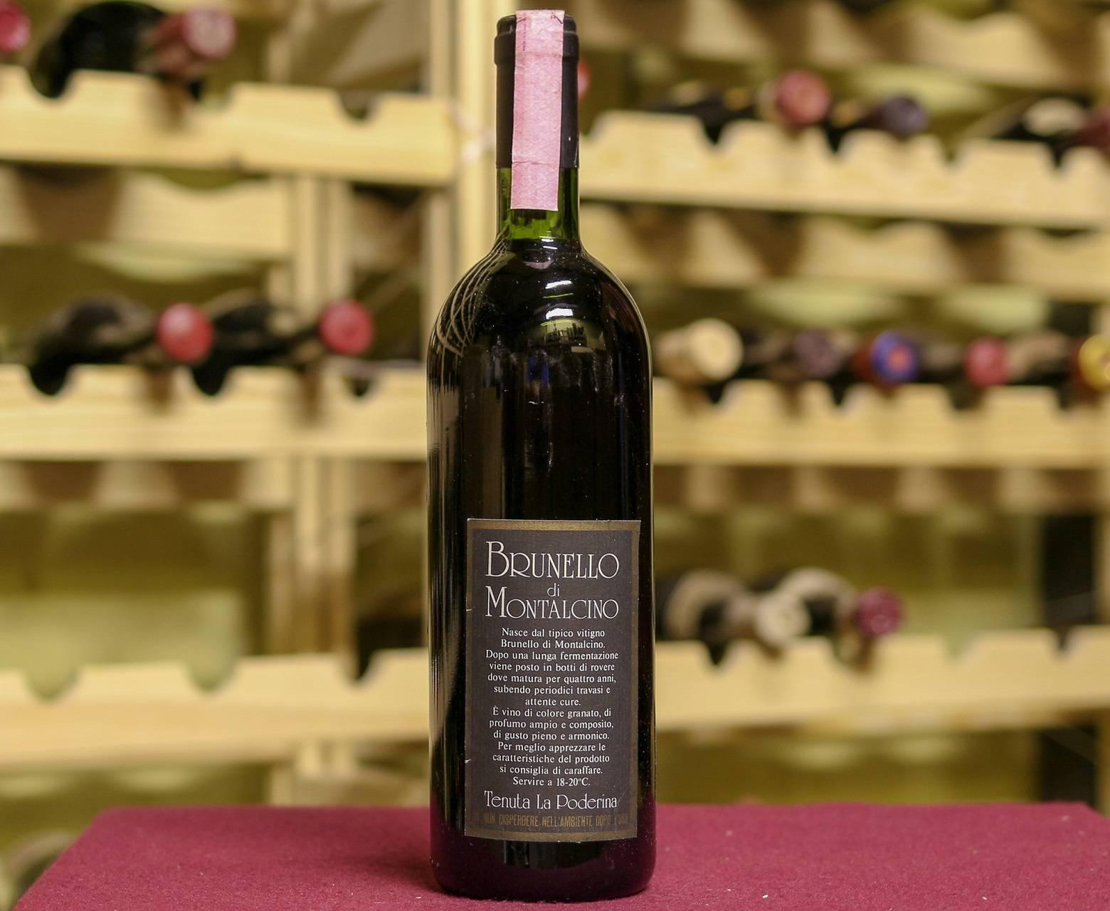 Вино брунелло ди монтальчино | дом в италии