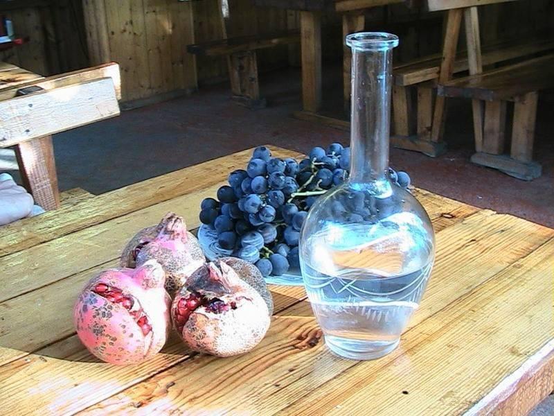 Классический рецепт чачи из винограда в домашних условиях без дрожжей