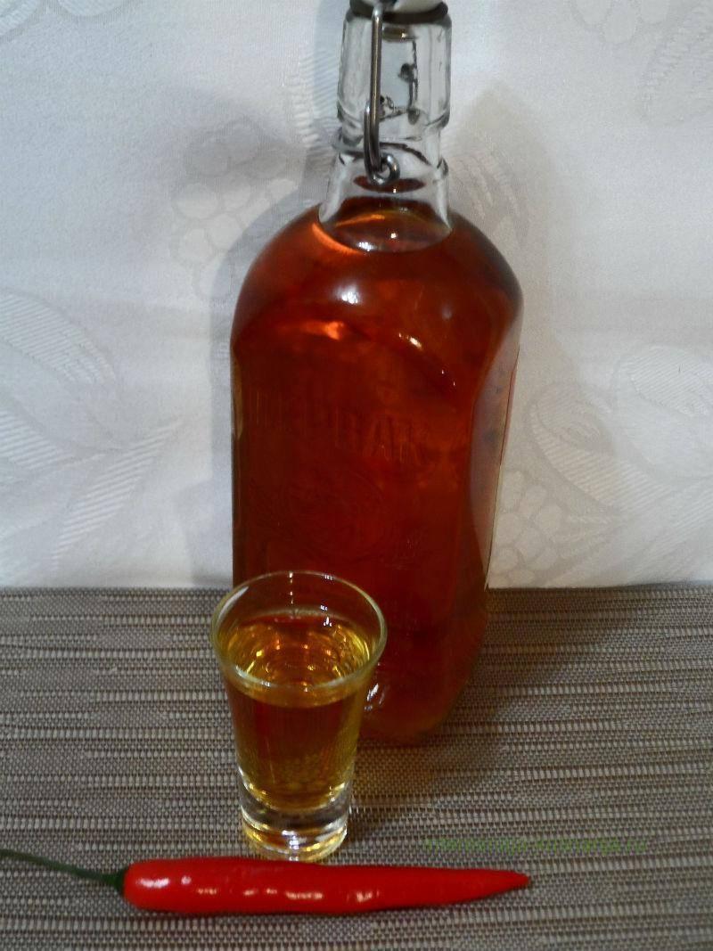 Рецепт перцовки в домашних условиях: перцовка на спирту, рецепт медовой перцовки немирофф, из чего готовится