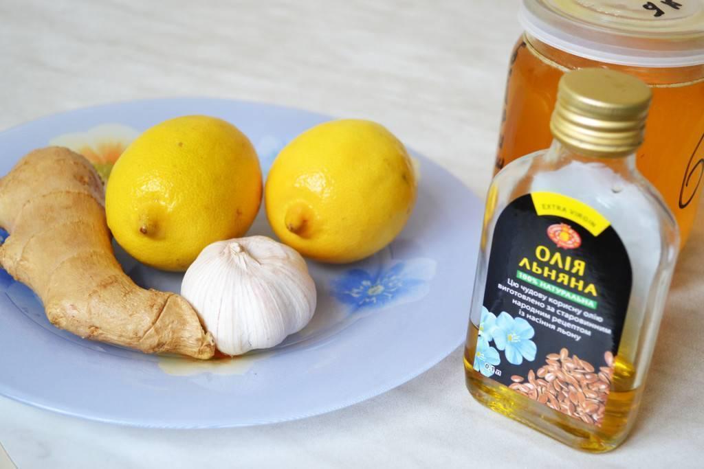 В чем польза чеснока, лимона и меда для чистки сосудов? классический и другие рецепты средств из этих продуктов