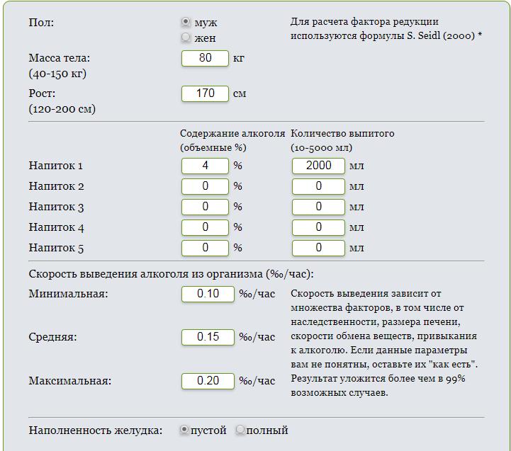 Сколько разрешено промилле в россии и допустимый алкоголь