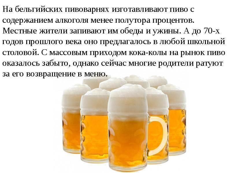 Самые интересные факты о пиве