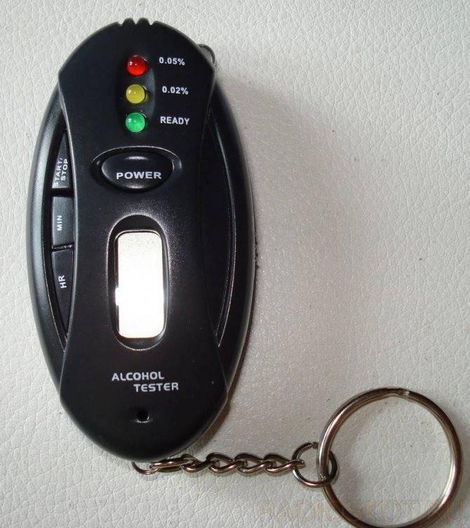 Как пользоваться алкотестером правильно: инструкция по применению