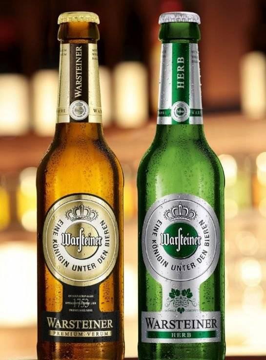 Пиво «варштайнер» – производство известной немецкой марки + видео   наливали