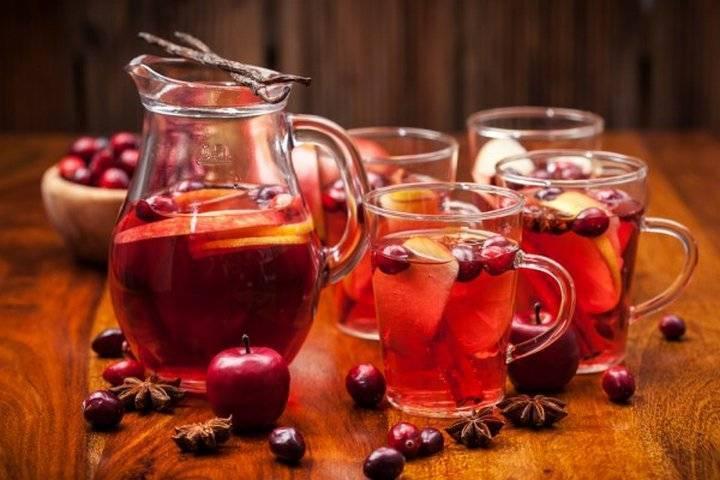 Пунш — рецепты алкогольного и безалкогольного вариантов напитка