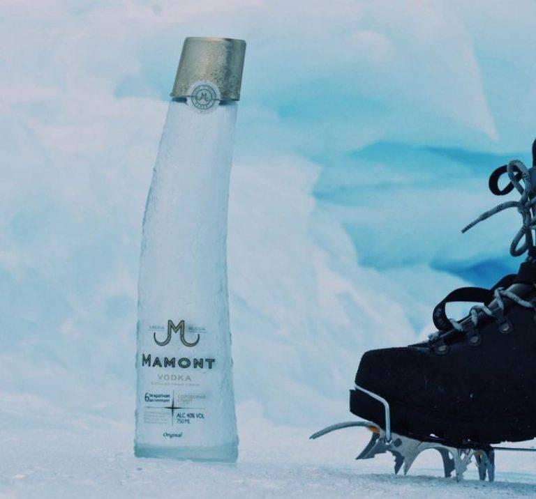 Водка «мамонт» – алкоголь с алтайских гор + видео | наливали