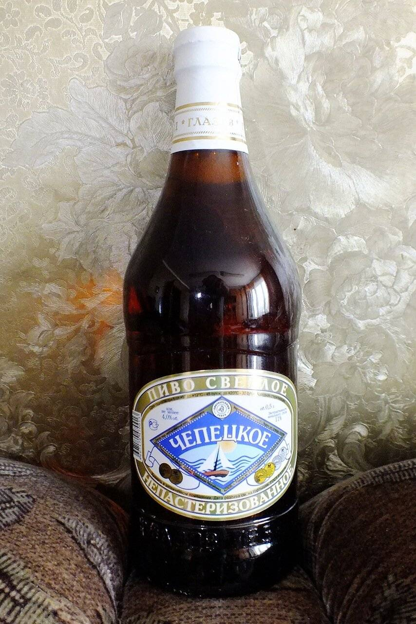 Пиво чепецкое срок годности — хочу знать