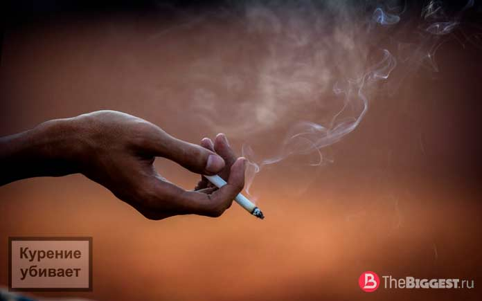 Самая курящая страна в мире