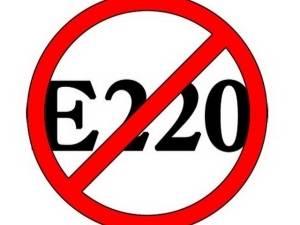 Е220 консервант в сухофруктах — похудение