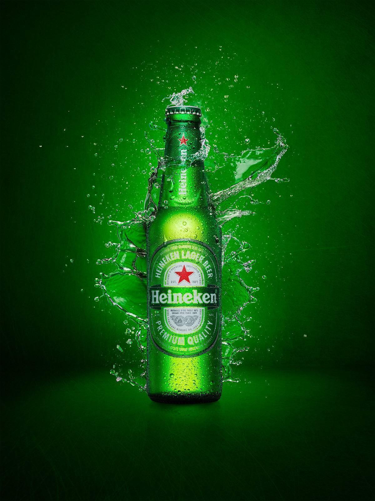 Голландское пиво «хайнекен»