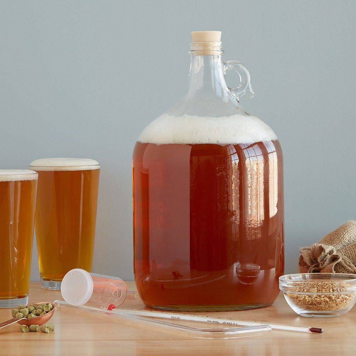 Классический рецепт ячменного пива