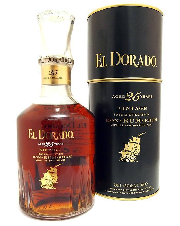Ром el dorado (эльдорадо) и его особенности