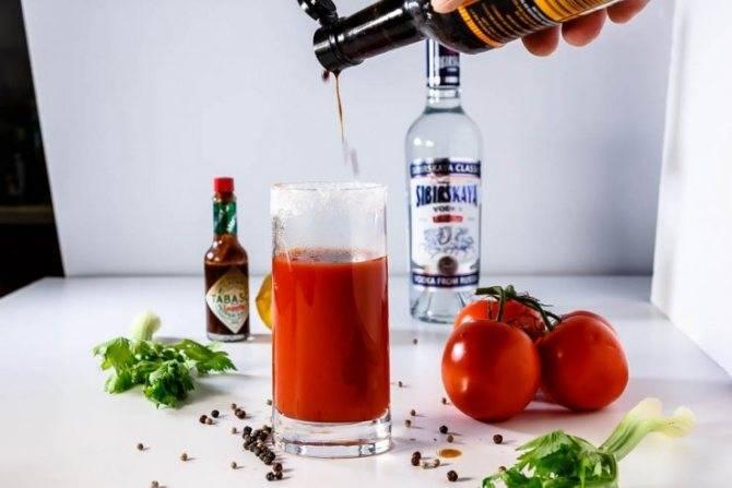 Коктейль «кровавая мэри» в домашних условиях: рецепт с фото, секреты приготовления
