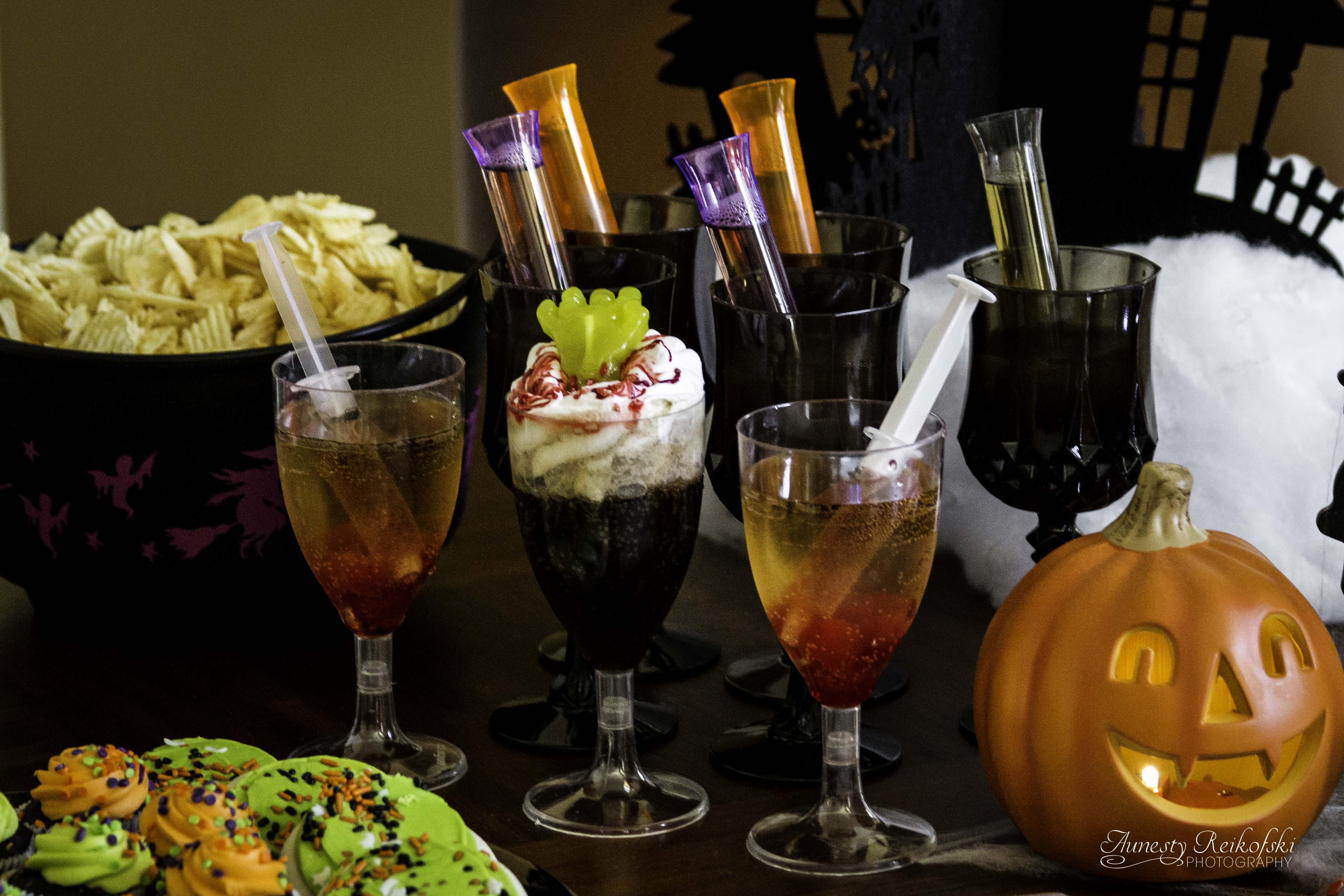 Топ-5 коктейлей для хэллоуина: неординарные рецепты