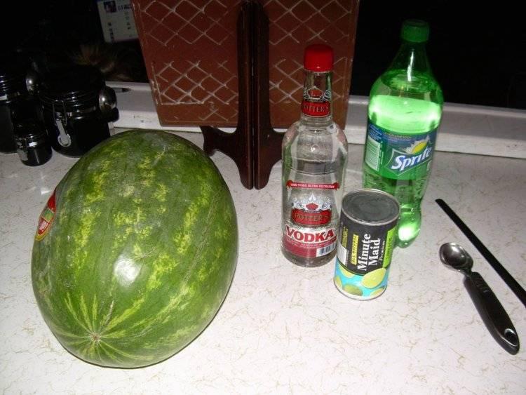 Как из арбуза сделать алкогольный напиток — это надо знать
