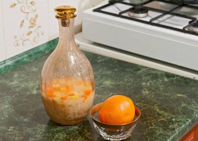 Настойка на апельсинах на самогоне — история алкоголя