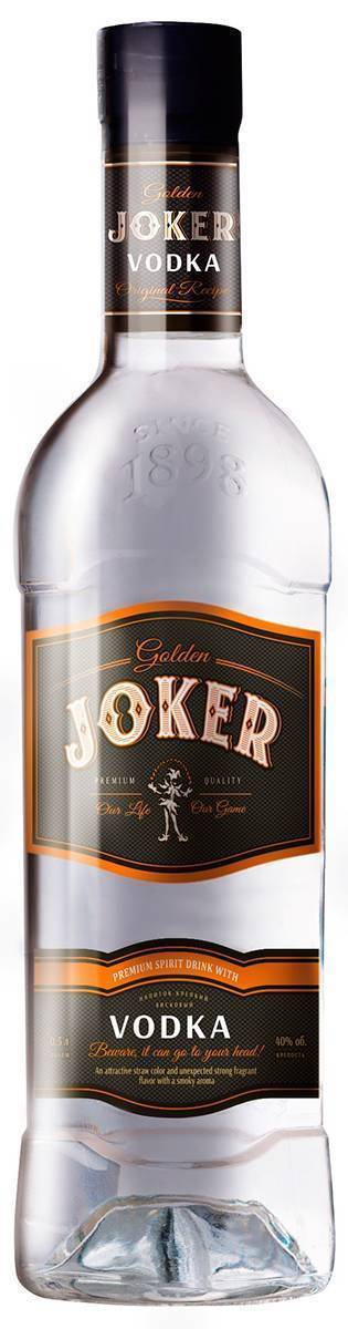 Jolly joker сколько градусов — история алкоголя
