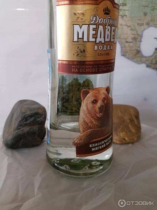 Обзор водки медведь