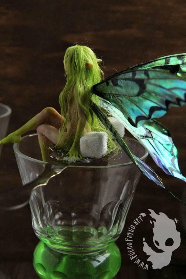 Зеленый абсент: как правильно и с чем пить в домашних условиях