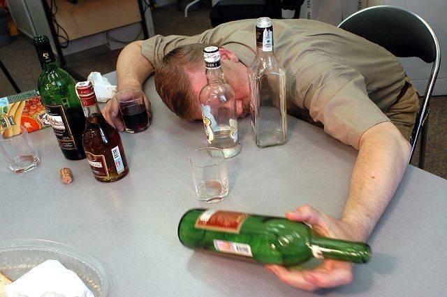 Летальный исход от передозировки алкоголем