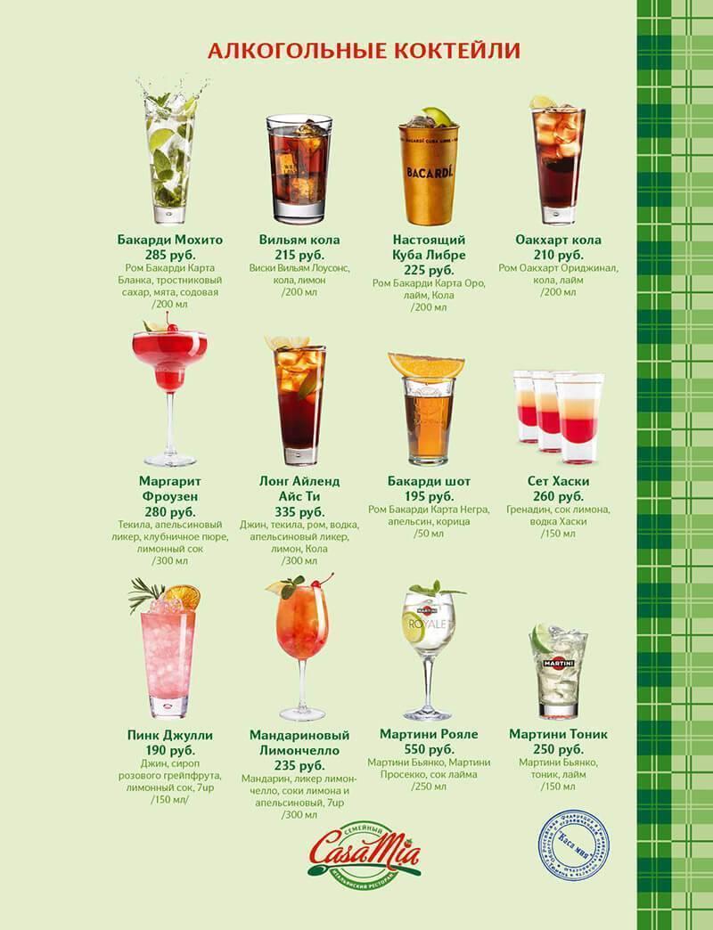 30 лучших рецептов алкогольных и безалкогольных коктейлей для домашней вечеринки - автор екатерина данилова - журнал женское мнение