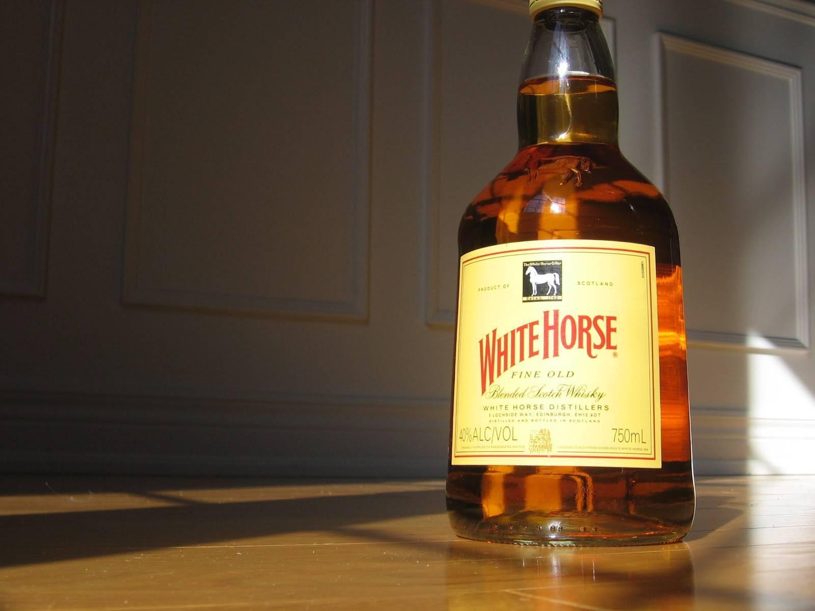Виски белая лошадь: история, обзор вкуса и видов + как отличить подделку