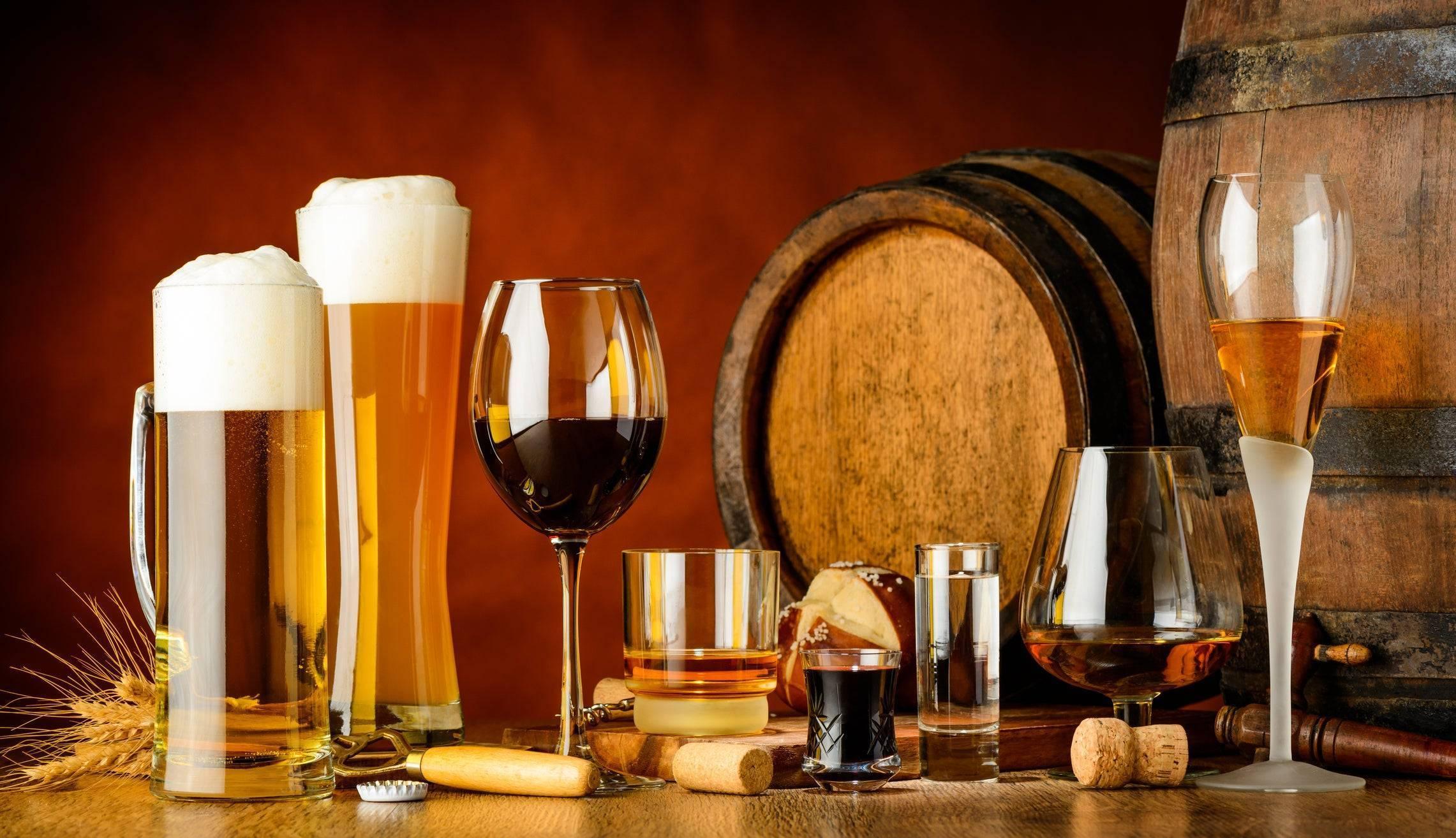 Алкоголь расширяет или сужает сосуды: коньяк, водка, вино, пиво
