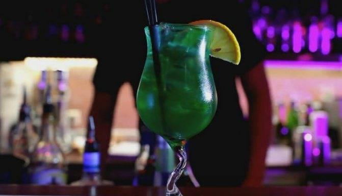 Айвовый зелёный коктейль