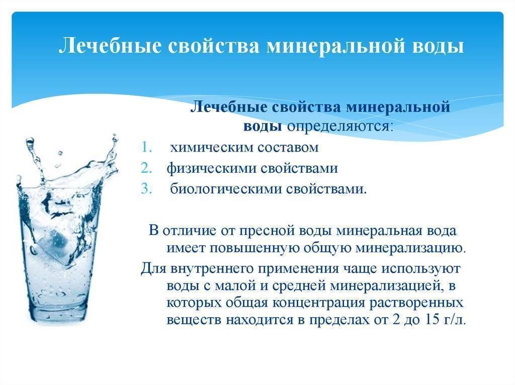 Какая минеральная вода самая полезная: виды, какую выбрать